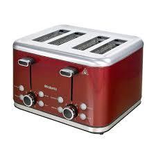 Cuisinart Toaster 4 Slice 4 Slice Red Toaster Nesco 4 Slice Stainless Steel Toaster