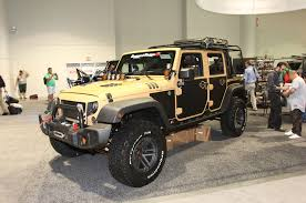 sema jeep yj giant custom trucks and suvs of sema 2015 rod network