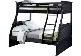 Belmar Black  Pc Twin Full Bunk Bed BunkLoft Beds Colors - Full bunk beds