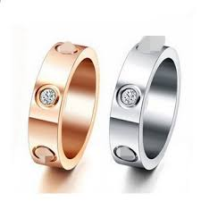 aliexpress buy gents rings new design yellow gold drbonham top classic design brand 6mm white yellow gold