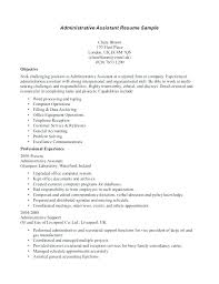 resume template free dental office manager resume objective admin template