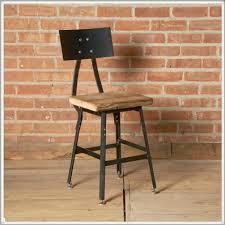 Reclaimed Wood Bar Stool Urban Design Reclaimed Wood Bar Stool With Steel Back