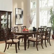 espresso dining room set homesullivan hton 7 espresso dining set 402546 96 7pc