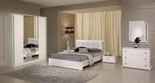 chambre a coucher lit tess chambre a coucher blanc brillant l 180 x h 95 x p 211