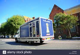 Upper Rock Gardens Brighton by Tesco Store Home Delivery Internet Shopping Van Uk Stock Photo