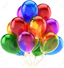 Balloons Party Happy Birthday Decoration Multicolored Translucent