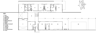 Terraced House Floor Plan by Gallery Of Foothills House Strachan Group Architects 16