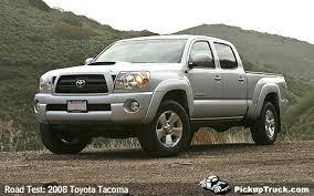 toyota 2008 price pickuptruck com road test 2008 toyota tacoma