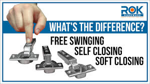 Self Closing Hinges For Kitchen Cabinets Cabinet Hinges 101 3 Closing Types Of Euro Hinges Youtube