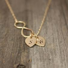 infinity necklace with initials gold infinity necklace personalized jewelry gold initial
