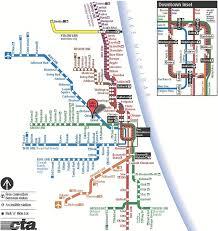 Cta Map Chicago C U0026c Building Corp