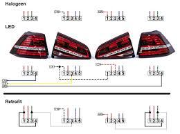 led taillight retrofit by dealer golfmk7 vw gti mkvii forum