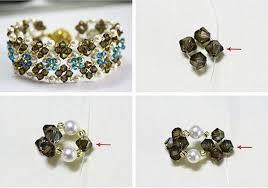 crystal bracelet diy images How to diy chic crystal flower bed bracelet fab art diy tutorials jpg