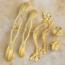 kitchen door furniture luxury gold 10pcs european antique kitchen door furniture handles