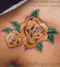 yellow tattoos aarron u0027s red region tattoos