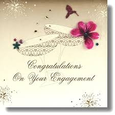 congratulations on engagement card engagement congratulations search greetings