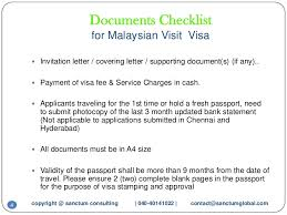 awesome collection of invitation letter for malaysia tourist visa