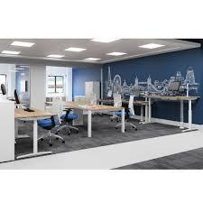 Adjustable Desk For Standing Or Sitting by Sit Stand Desk Single Standing Desk Height Adjustable Desk
