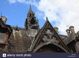 holly village victorian gothic houses at highgate london england