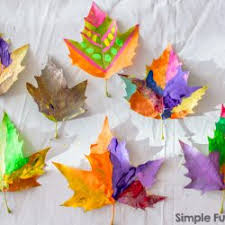 Craft Project Ideas For Kids - 41 stunning leaf crafts for kids to make hands on as we grow