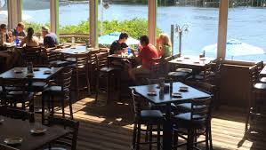 B And Q Outdoor Furniture Boatyard Waterfront Bar U0026 Grill Paradise On The Water