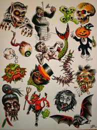 halloween tattoos and designs page 31