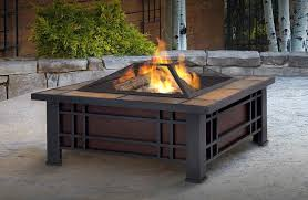 alderbrook faux wood fire table how to build a gas fire pit burner outdoor table alderbrook faux