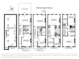 brownstone floor plans modern ideas brownstone house plans back historic floor home