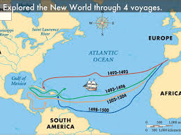 Vasco Da Gama Route Map by Exploring The New World By Ben Newhard
