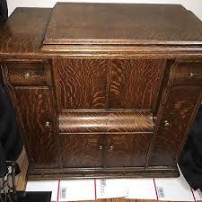 Vintage Singer Sewing Machine Cabinet Antique Sewing Cabinet Zeppy Io