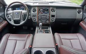 ford expedition interior 2016 2015 ford expedition platinum road test review carcostcanada