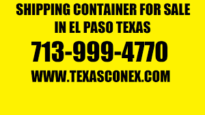 shipping container for sale in el paso texas youtube