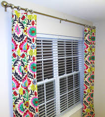 Waverly Curtains And Drapes Pair Of 2 Panels 25 X 84 Waverly Santa Maria Desert By Sewpanache