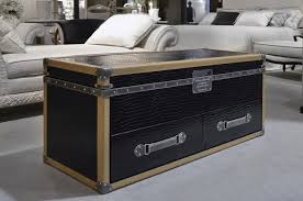 Trunk Coffee Table With Storage Coffee Table Storage Chest Coffee Table Wood Trunk Rustic Leather