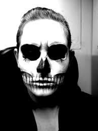 skull make up by nashihoshi skull make up by nashihoshi