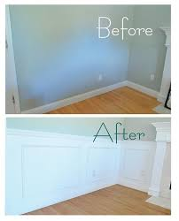 Wainscoting Pre Made Panels - 100 smart home remodeling ideas on a budget wainscoting