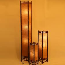 Japanese Floor Lamp Aliexpress Com Buy Vintage Handcraft Bamboo Floor Lamp Japan