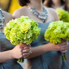 Bridesmaids Bouquets Wedding Club Green Bridesmaid Bouquets