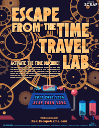 escape from the time travel lab in los angeles real escape game