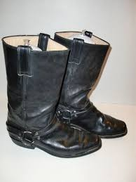 s boots size 9 1 2 caborca botas engineer harness s cowboy boots size 28