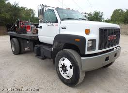 1995 gmc topkick flatbed truck item dc5309 thursday octo