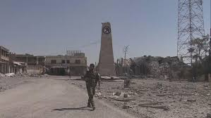 as u s backed forces close in on isis capital raqqa stench of