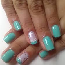 uñas color verde menta decoración uñas pinterest nail nail