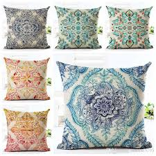 Cushions Shabby Chic by Rustic Floral Cushion Cover Shabby Chic Ethnic Home Decor Boho