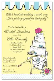 brunch invites wording bridal luncheon clipart 73