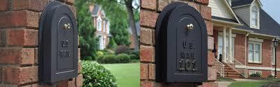 better box mailboxes decorative cast aluminum mailboxes u0026 curbside