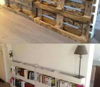 cheapest way to build shelves homemade wall awesome diy living