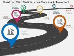 free powerpoint template roadmap business roadmap template free