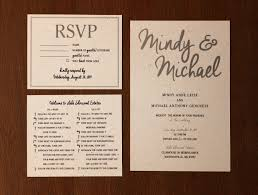 Wedding Invitations And Rsvp Cards Julie Leise