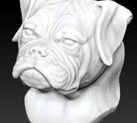 boxer dog statue boxer dog